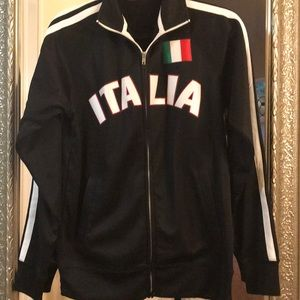 Unisex italia track jacket . Small . New